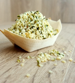 Hemp seeds shelled 1kg, organic